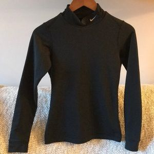 Women's small Nike dry fit mock turtle neck